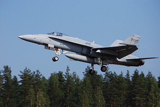 Finnish Air Force F-18