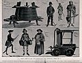 Fire-fighters and fire-fighting techniques. Process print. Wellcome V0039393.jpg