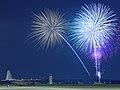 Fireworks over Yokota Air Base, Japan, July 4, 2009.jpg