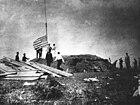Unua Marine Battalion (Usono) alteriĝis sur orientan flankon de Guantanamo Bay, Kubo la 10an de junio 1898.jpg