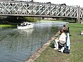Fishing on the River Lea - geograph.org.uk - 202646.jpg