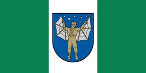 Priekule Municipality - Image: Flag of Priekules novads