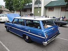 Chevrolet chevy ii nova wikipedia 1963 chevrolet chevy ii nova 400 4 door station wagon sciox Choice Image