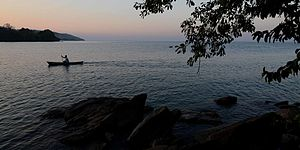 Flickr - ggallice - Lake Malawi sunset.jpg