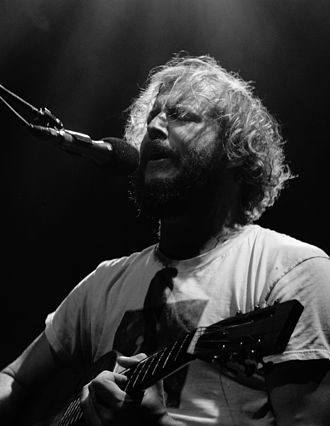 For Emma, Forever Ago - Justin Vernon performing in 2009.
