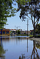Flooded intersection of Ocallaghans Parade and Firebrace Street.jpg