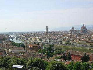 Pamorámica de Florencia, Italia