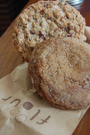 I got a ginger molasses cookie (my favourite o...