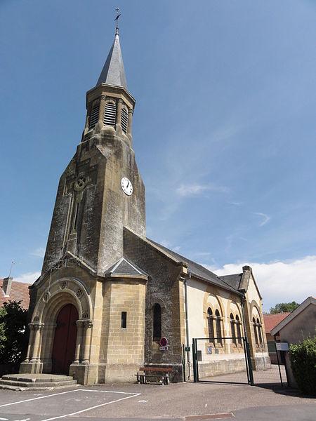 Foameix-Ornel (Meuse) église Foameix
