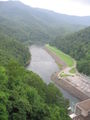 Fontana Dam Downstream View 2005-07-30.JPG