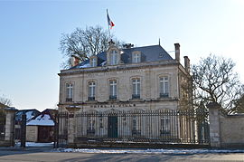 The town hall in Fontenay-le-Comte
