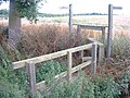 Foot bridge over which public footpath crosses - geograph.org.uk - 24429.jpg