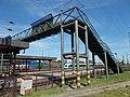 Footbridge, Hatvan railway station, 2017 Hatvan.jpg