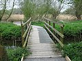 Footbridge in Stodmarsh Nature Reserve - geograph.org.uk - 1251037.jpg