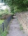 Footpath - Dunbottle Lane - geograph.org.uk - 903893.jpg