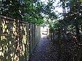 Footpath from East Road to Ellesmere Road - geograph.org.uk - 1738294.jpg