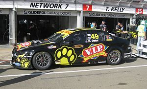 Steve Owen (racing driver) - The Ford FG Falcon of Steve Owen at the 2012 Clipsal 500 Adelaide