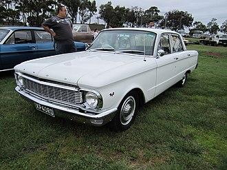 Ford Fairmont (Australia) - Image: Ford Fairmont XP Sedan