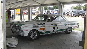 Jim Richards (racing driver) - Richards won the 2010 Touring Car Masters at the wheels of a 1964 Ford Falcon Sprint