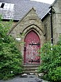 Former Wood Top Primary School, Doorway - geograph.org.uk - 876704.jpg
