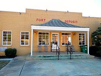 Fort Deposit, Alabama - Image: Fort Deposit, Alabama City Hall