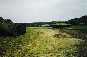 Joint Base Langley–Eustis - Fort Eustis during a training operation in July 2001.