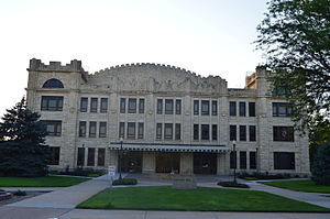 Fort Hays State University - Sheridan Hall