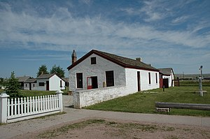 National Register of Historic Places listings in Uinta County, Wyoming - Image: Fortbridger