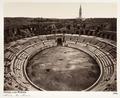 Fotografi på amfiteatern Les Arènes i Nîmes - Hallwylska museet - 107236.tif