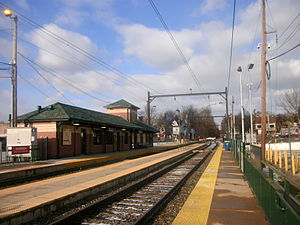 Fox Chase Line - Fox Chase station in December 2012