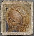 Fra Angelico (Werkstatt) - Kopf eines hl. Mönchs - WAF 39 - Bavarian State Painting Collections.jpg