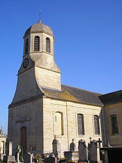 Sainte-Croix-Grand-Tonne Part of Thue et Mue in Normandy, France