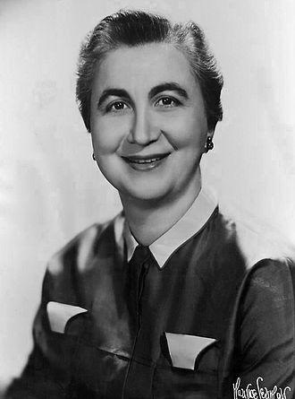 Frances Horwich - Horwich in 1955