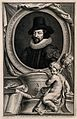 Francis Bacon, Viscount St Albans. Line engraving by J. Houb Wellcome V0000263.jpg