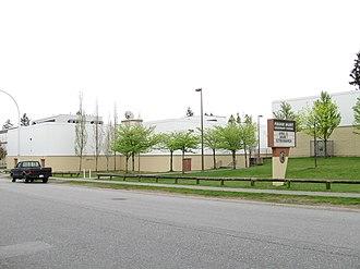 Frank Hurt Secondary School - Image: Frank Hurt school sign (2010)