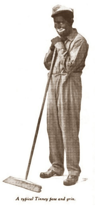 Frank Tinney - Tinney in character in Everybody's Magazine, 1921