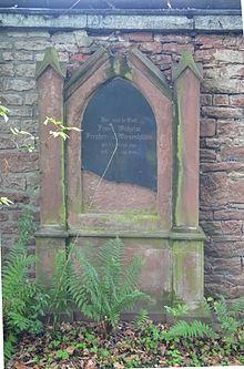 Grab von Franz Wilhelm von Wiesenhütten auf dem Hauptfriedhof Frankfurt (Quelle: Wikimedia)