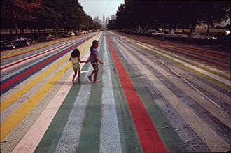 Gene Davis (painter) - Franklin's Footpath