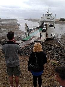 Fraser Island-Access-Fraser island ferry