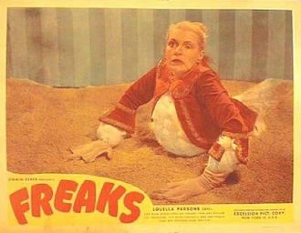 Midnight movie - A classic midnight movie in every sense of the term, Tod Browning's Freaks (1932) is the sort of (then) obscure horror film shown on late-night TV beginning in the 1950s; in the 1970s and early 1980s it was a staple of midnight screenings at theaters around the U.S.