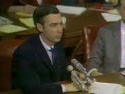 File:Fred Rogers testifies before the Senate Subcommittee on Communications, 1969.ogv
