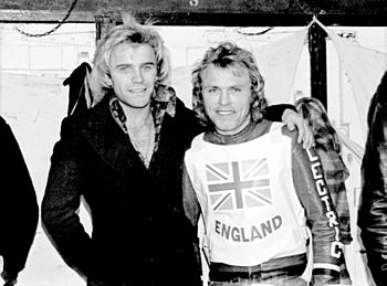 Freddie Starr and Reg Wilson at the GB V Young...