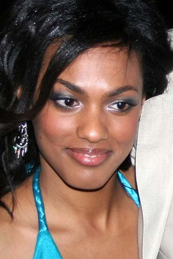 Agyeman pictured at the press launch of the third series of Doctor Who in March 2007. Freema Agyeman 2007.jpg