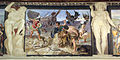 Fregio di Giasone e Medea 07 annibale carracci, trasporto della nave attraverso il deserto libico, 1584 ca..JPG