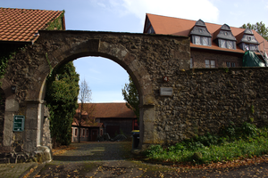 Freiensteinau - Freiensteinau Castle: gate