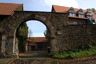 Freiensteinau - Freiensteinau Castle: gate