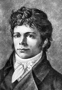 Porträt nach einem Ölgemälde von Christian Friedrich Tieck, um 1800 (Quelle: Wikimedia)