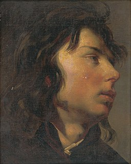 Friedrich von Amerling - Head of a Young Man - O 80 - Slovak National Gallery