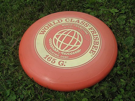 True fact: Frisbees are not used in Ultimate Frisbee! (We use the Discraft brand disc.)