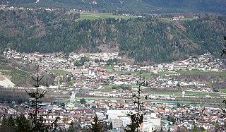 Fritzens Place in Tyrol, Austria